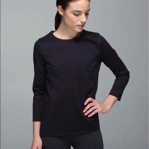 Lululemon Pleat On Long Sleeve